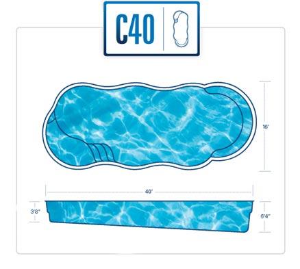 River Pools C40
